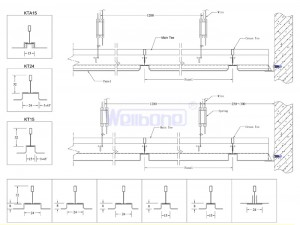 Drawings-KT-type-Lay-in-Ceiling-01